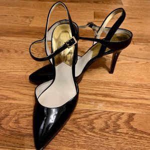 💖Michael Kors Black Patent Leather High Heels